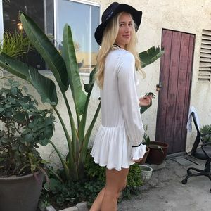 NWT Tularosa White Boho Malia Dress